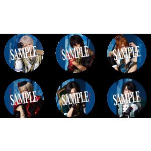 【静かの海のパライソ 2021年版】ランダム缶バッジ(ライブver.) 4個セット
