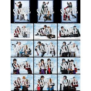 【静かの海のパライソ 2021年版】ランダムペアブロマイド(戦闘ver.) 5枚セット