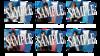 【静かの海のパライソ 2021年版】ブロマイド 刀剣男士(ライブver.)6種セット<特典付き>