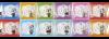 【真剣乱舞祭 2016:上映会】デフォルメキャラクターミニタオル 全セット(不織布オリジナルバッグ付)
