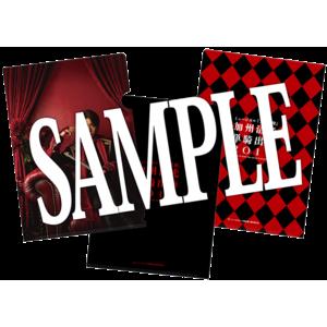 【加州清光 単騎出陣2017】ブラインドクリアファイル(全5種)