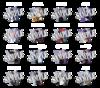 【真剣乱舞祭2017】ブロマイド 刀剣男士(2部衣裳)16種全セット
