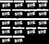 【真剣乱舞祭2018】ブロマイド刀剣男士(2部衣裳)18種全セット<特典付き>