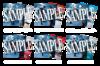 【静かの海のパライソ】ブロマイド 刀剣男士(戦闘ver.)6種セット<特典付き>