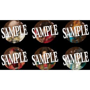 【受注生産】【静かの海のパライソ】ブラインド缶バッジ(ライブver.)<ランダム商品>