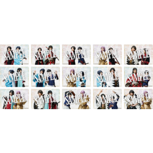 【幕末天狼傳 2020】ランダムブロマイド(戦闘ver.) 全15種 5枚セット