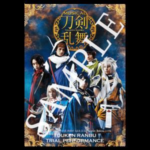 ミュージカル『刀剣乱舞』トライアル公演 ポスターパンフレット(縦型)